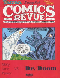 Cover for Comics Revue (Manuscript Press, 1985 series) #71