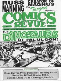 Cover Thumbnail for Comics Revue (Manuscript Press, 1985 series) #89
