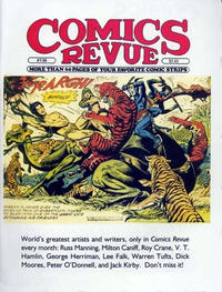 Cover for Comics Revue (Manuscript Press, 1985 series) #136