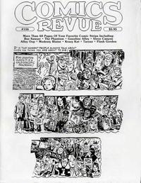 Cover for Comics Revue (Manuscript Press, 1985 series) #156