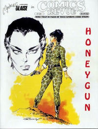Cover for Comics Revue (Manuscript Press, 1985 series) #125