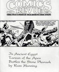 Cover for Comics Revue (Manuscript Press, 1985 series) #127