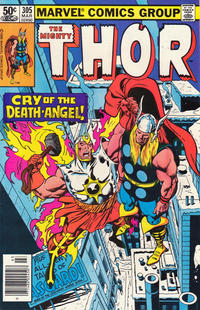 Cover Thumbnail for Thor (Marvel, 1966 series) #305 [Newsstand]