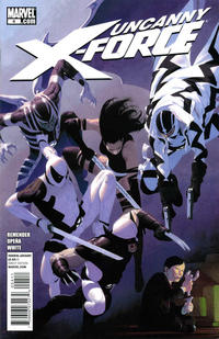 Cover Thumbnail for Uncanny X-Force (Marvel, 2010 series) #4