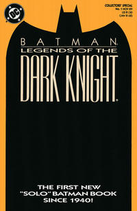 Cover Thumbnail for Legends of the Dark Knight (DC, 1989 series) #1 [Orange Cover]