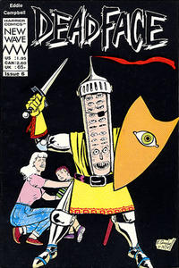 Cover Thumbnail for Deadface (Harrier, 1987 series) #6