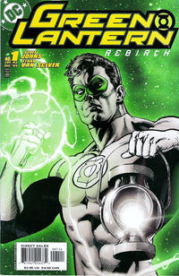 Cover Thumbnail for Green Lantern: Rebirth (DC, 2004 series) #1 [Fourth Printing]