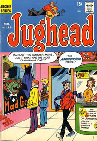 Cover Thumbnail for Jughead (Archie, 1965 series) #189
