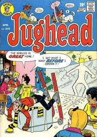 Cover Thumbnail for Jughead (Archie, 1965 series) #215