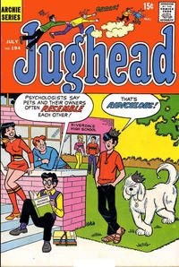 Cover Thumbnail for Jughead (Archie, 1965 series) #194