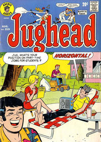 Cover Thumbnail for Jughead (Archie, 1965 series) #219
