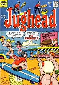 Cover Thumbnail for Jughead (Archie, 1965 series) #207