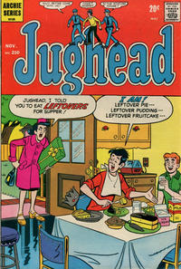 Cover Thumbnail for Jughead (Archie, 1965 series) #210
