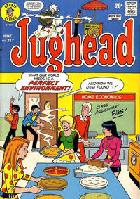 Cover Thumbnail for Jughead (Archie, 1965 series) #217