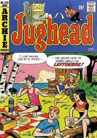 Cover Thumbnail for Jughead (Archie, 1965 series) #229