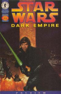 Cover Thumbnail for Star Wars: Dark Empire Preview (Dark Horse, 1996 series)