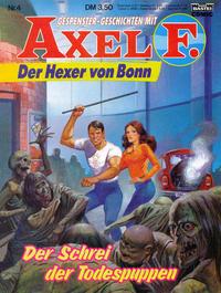Cover Thumbnail for Axel F. (Bastei Verlag, 1988 series) #4