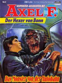 Cover Thumbnail for Axel F. (Bastei Verlag, 1988 series) #2