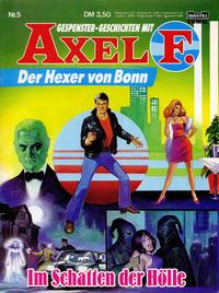 Cover Thumbnail for Axel F. (Bastei Verlag, 1988 series) #5