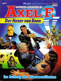 Cover Thumbnail for Axel F. (Bastei Verlag, 1988 series) #11