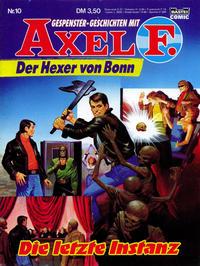 Cover Thumbnail for Axel F. (Bastei Verlag, 1988 series) #10