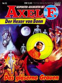 Cover Thumbnail for Axel F. (Bastei Verlag, 1988 series) #13