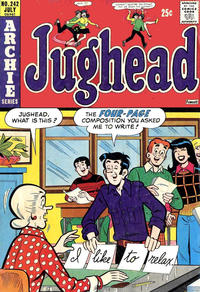 Cover Thumbnail for Jughead (Archie, 1965 series) #242
