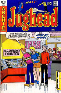 Cover Thumbnail for Jughead (Archie, 1965 series) #254