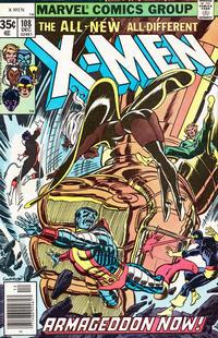 Cover Thumbnail for The X-Men (Marvel, 1963 series) #108