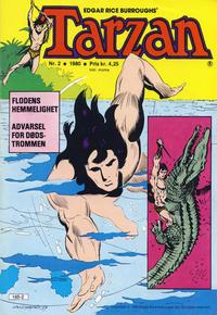 Cover Thumbnail for Tarzan (Atlantic Forlag, 1977 series) #2/1980