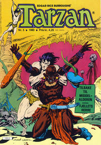Cover for Tarzan (Atlantic Forlag, 1977 series) #5/1980