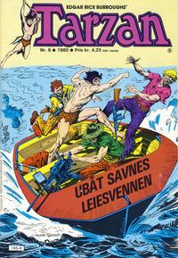 Cover Thumbnail for Tarzan (Atlantic Forlag, 1977 series) #6/1980