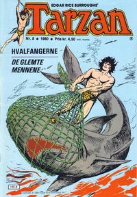Cover Thumbnail for Tarzan (Atlantic Forlag, 1977 series) #8/1980
