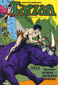 Cover Thumbnail for Tarzan (Atlantic Forlag, 1977 series) #9/1980