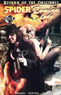 Cover Thumbnail for The Spider and Domino Lady (Moonstone, 2011 series)
