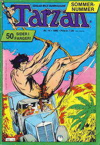 Cover Thumbnail for Tarzan (Atlantic Forlag, 1977 series) #14/1980