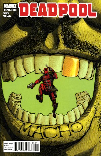 Cover for Deadpool (Marvel, 2008 series) #32