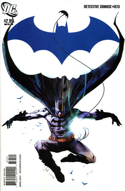 Cover for Detective Comics (DC, 1937 series) #873