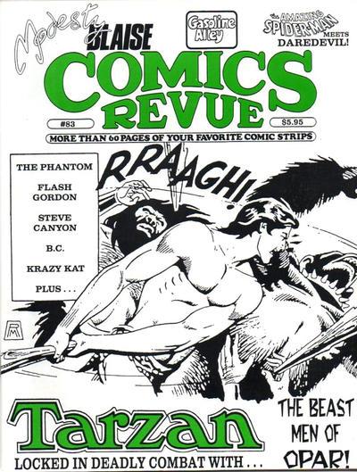 Cover for Comics Revue (Manuscript Press, 1985 series) #83