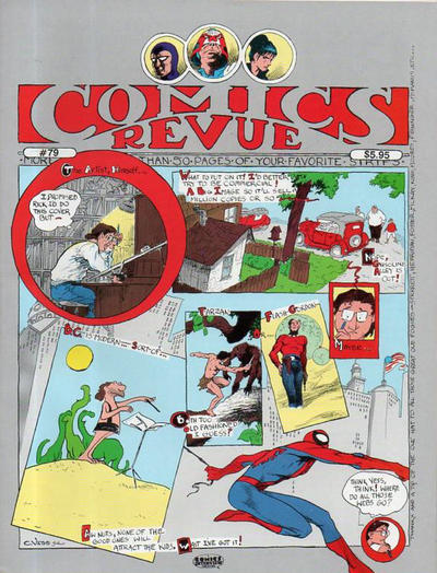 Cover for Comics Revue (Manuscript Press, 1985 series) #79