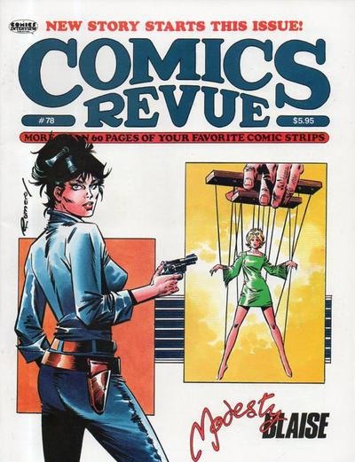 Cover for Comics Revue (Manuscript Press, 1985 series) #78