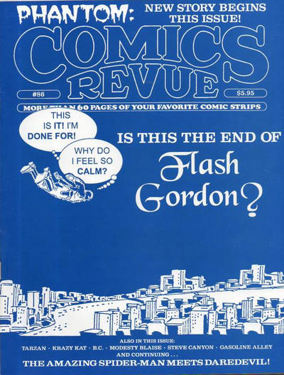 Cover for Comics Revue (Manuscript Press, 1985 series) #86