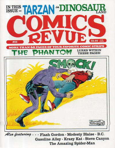 Cover for Comics Revue (Manuscript Press, 1985 series) #88