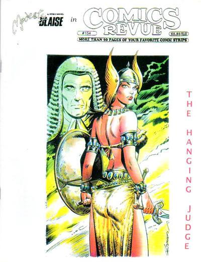 Cover for Comics Revue (Manuscript Press, 1985 series) #154