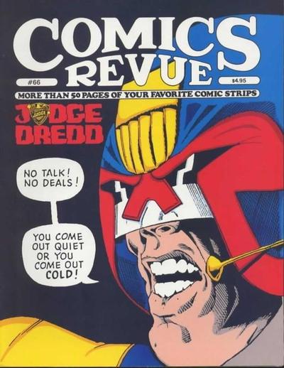 Cover for Comics Revue (Manuscript Press, 1985 series) #66