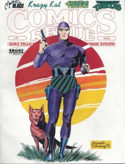 Cover for Comics Revue (Manuscript Press, 1985 series) #75