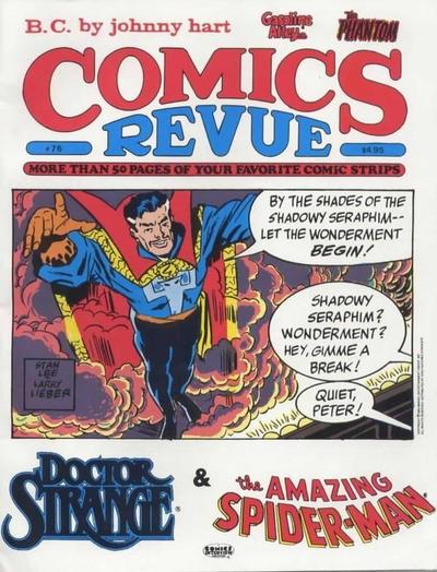 Cover for Comics Revue (Manuscript Press, 1985 series) #76