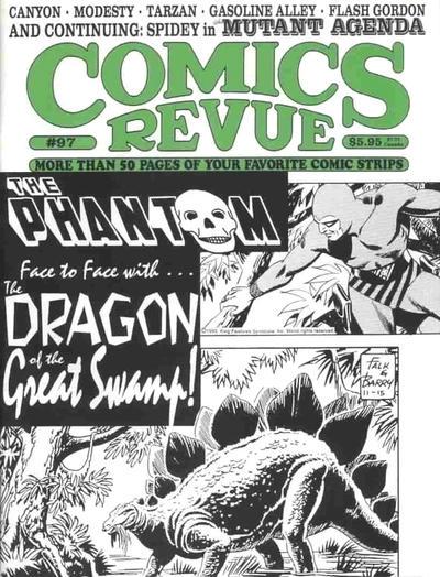 Cover for Comics Revue (Manuscript Press, 1985 series) #97