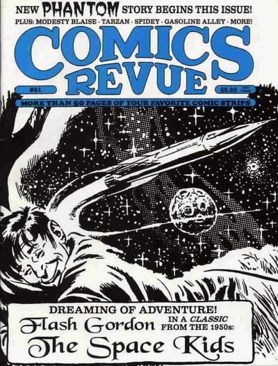 Cover for Comics Revue (Manuscript Press, 1985 series) #91