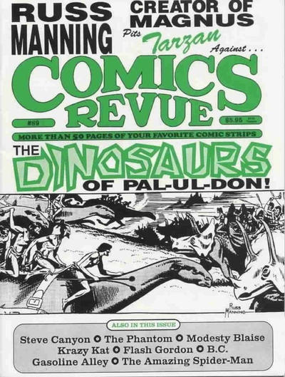 Cover for Comics Revue (Manuscript Press, 1985 series) #89